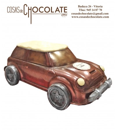 Coche Mini de chocolate