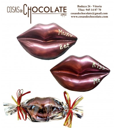 Beso de chocolate