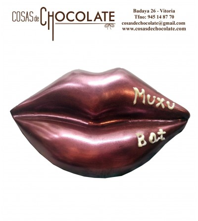 Beso de chocolate