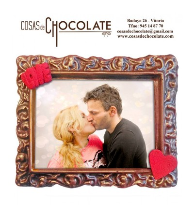 "Marco de chocolate ""LOVE"""