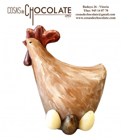 Gallina de chocolate