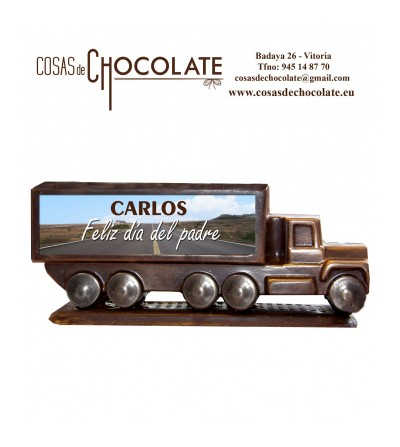 Camión de chocolate...