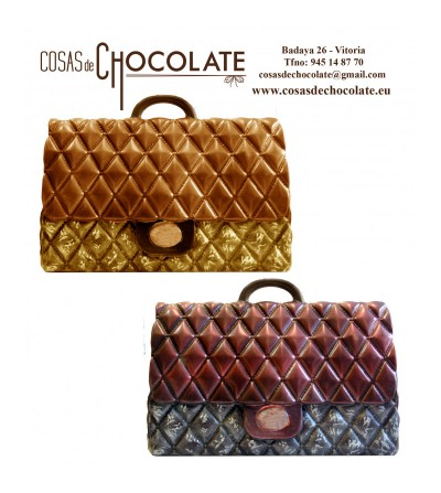 Bolso de chocolate Rombos