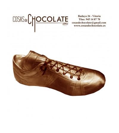 Bota de Oro de chocolate Negro