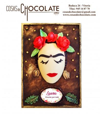 Placa de chocolate: Mujer...